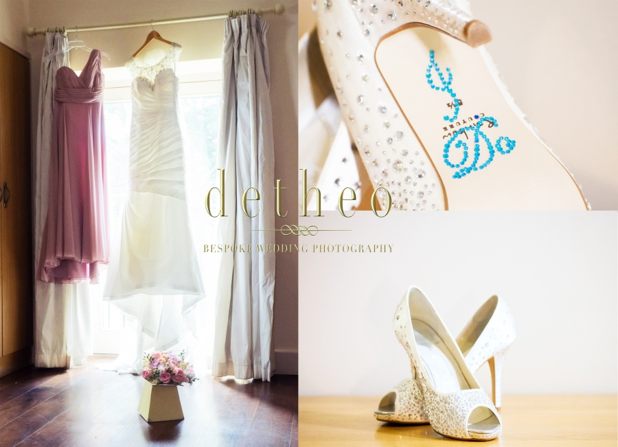 Bridal Preparations and accessories photographed by Wedding Photographer, Detheo Photography