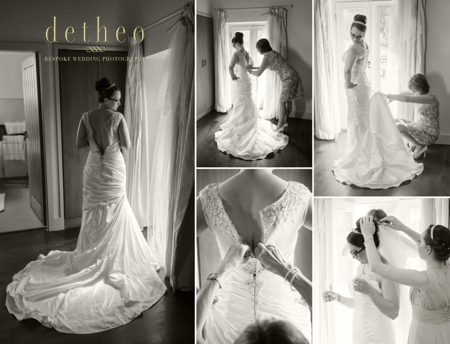 Bridal Preparations photographed by Wedding Photographer, Detheo Photography